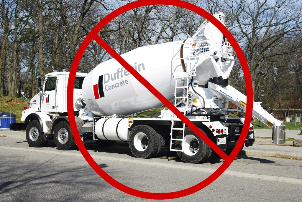 5 no dufferin concrete truck